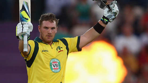 Aaron Finch crowned T20I player of the year at Allan Border medal ceremony