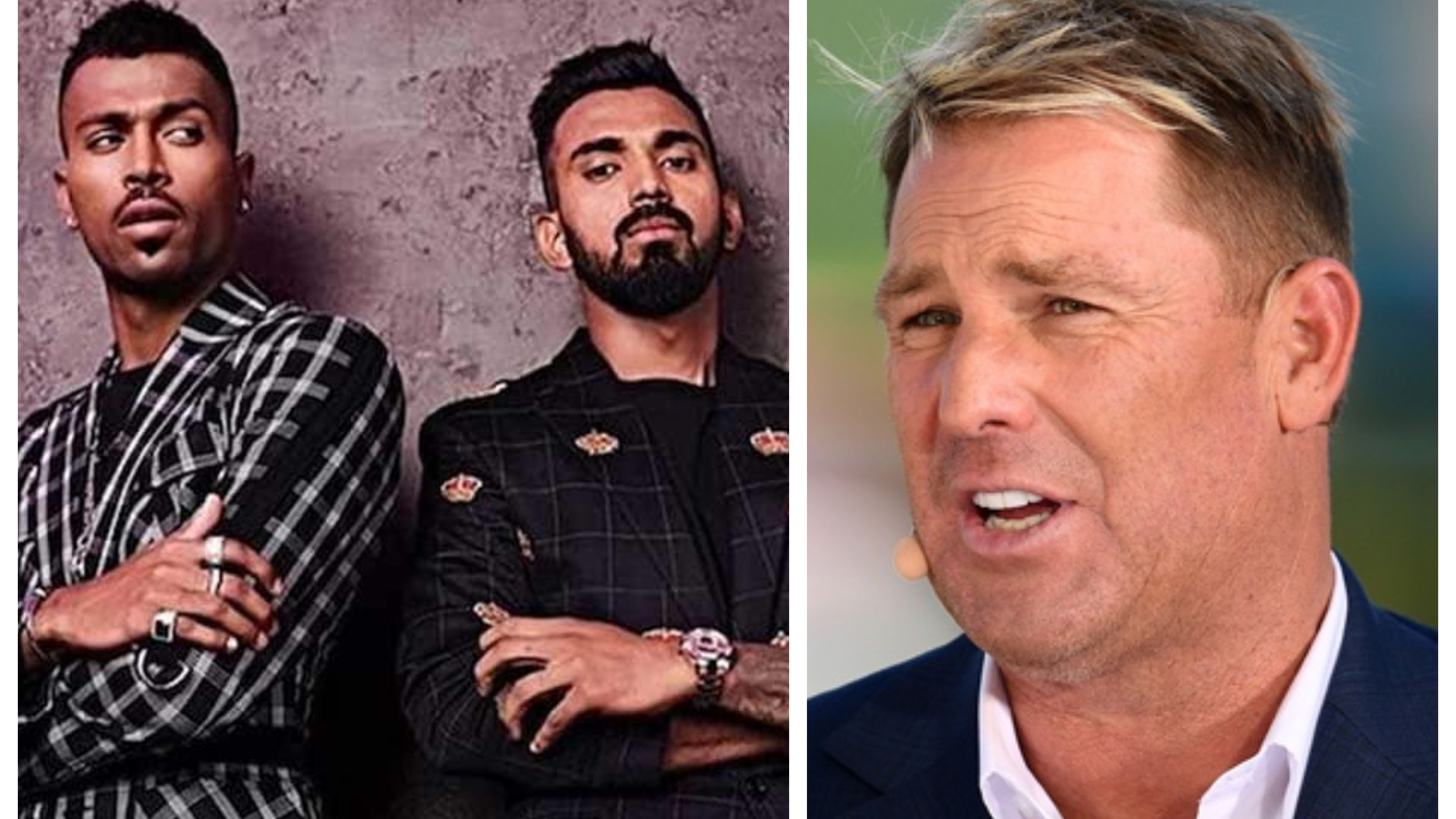 "Shane Warne reacts on Pandya and Rahul's ""Koffee with Karan controversy"""