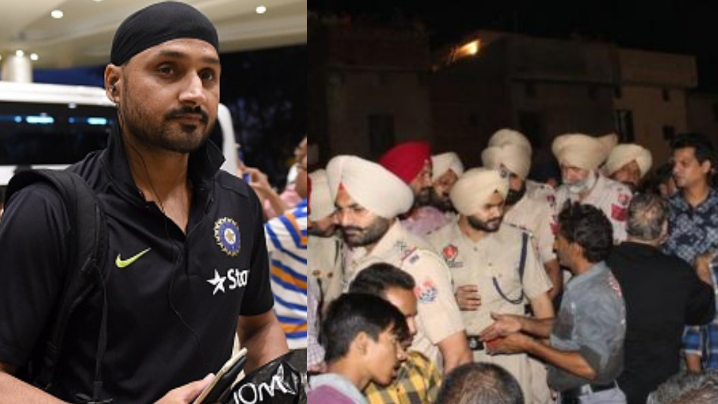 Harbhajan Singh angry with people playing politics in Amritsar Train accident