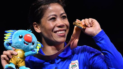 Cricket fraternity lauds India boxing icon Mary Kom on her CWG 2018 gold medal win