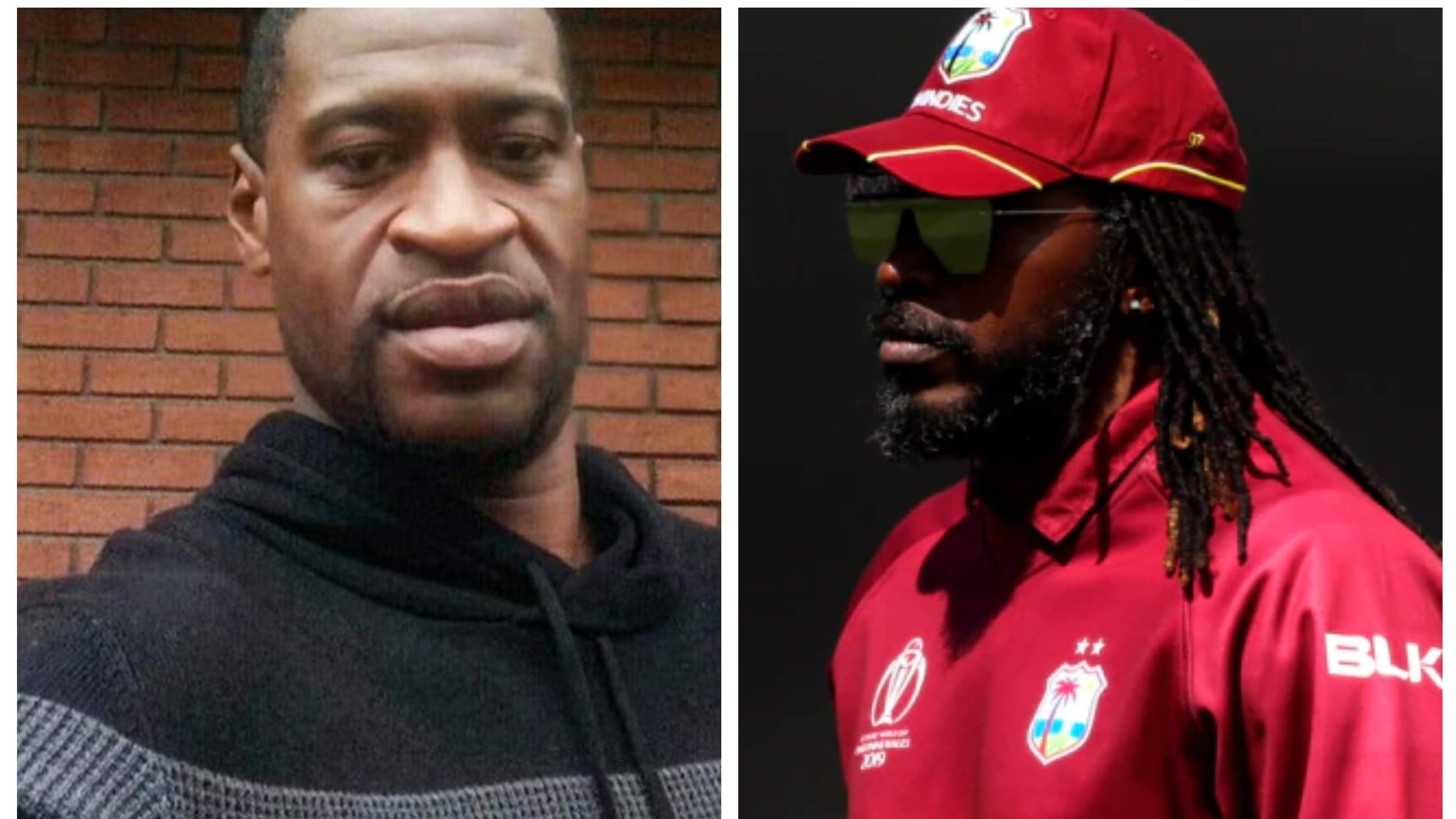 """""""Black lives matter just like any other life"""", Chris Gayle speaks out after George Floyd's death"""