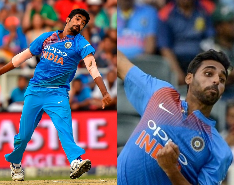 Bhuvneshwar Kumar and Jasprit Bumrah have the best yorkers in the T20I format at the moment | Getty