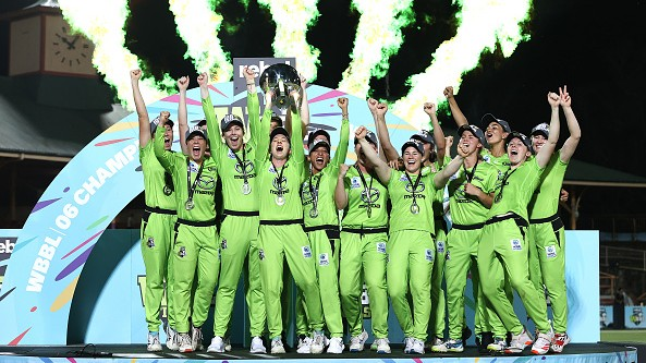 WBBL 06: Sydney Thunder beats Melbourne Stars to clinch second WBBL title