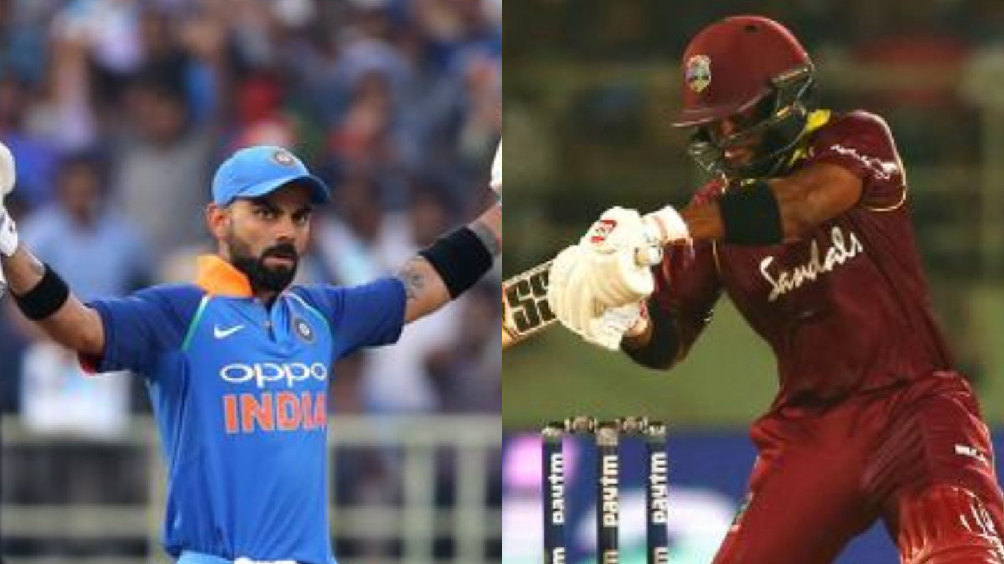 IND v WI 2018: 2nd ODI – Hope 123* and Hetmyer's 94 leads to a tied match after Virat's record 157*