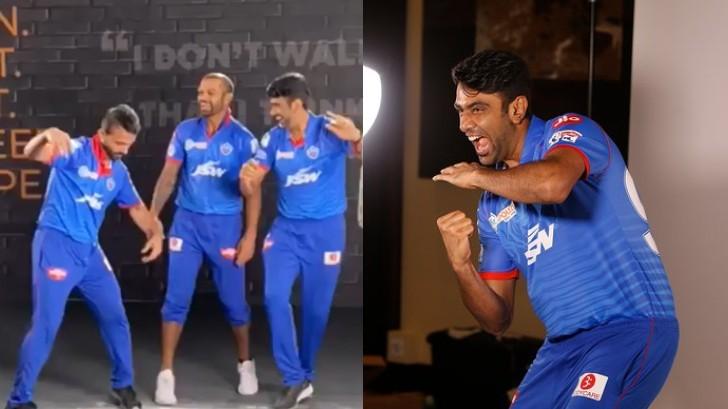 IPL 2020: WATCH - Shikhar Dhawan teaches Bhangra to DC newcomers Ajinkya Rahane and R Ashwin