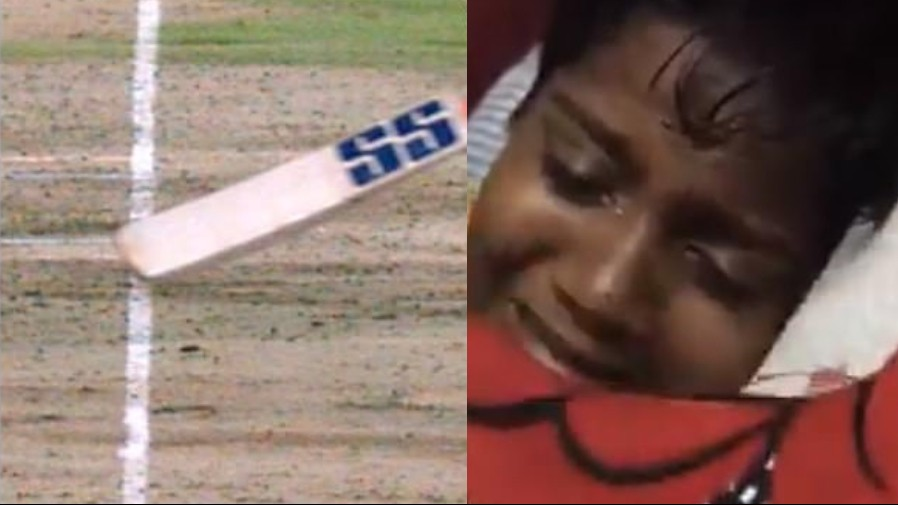 IPL 2019: WATCH - Fan cries a river after MS Dhoni's controversial run-out in the final