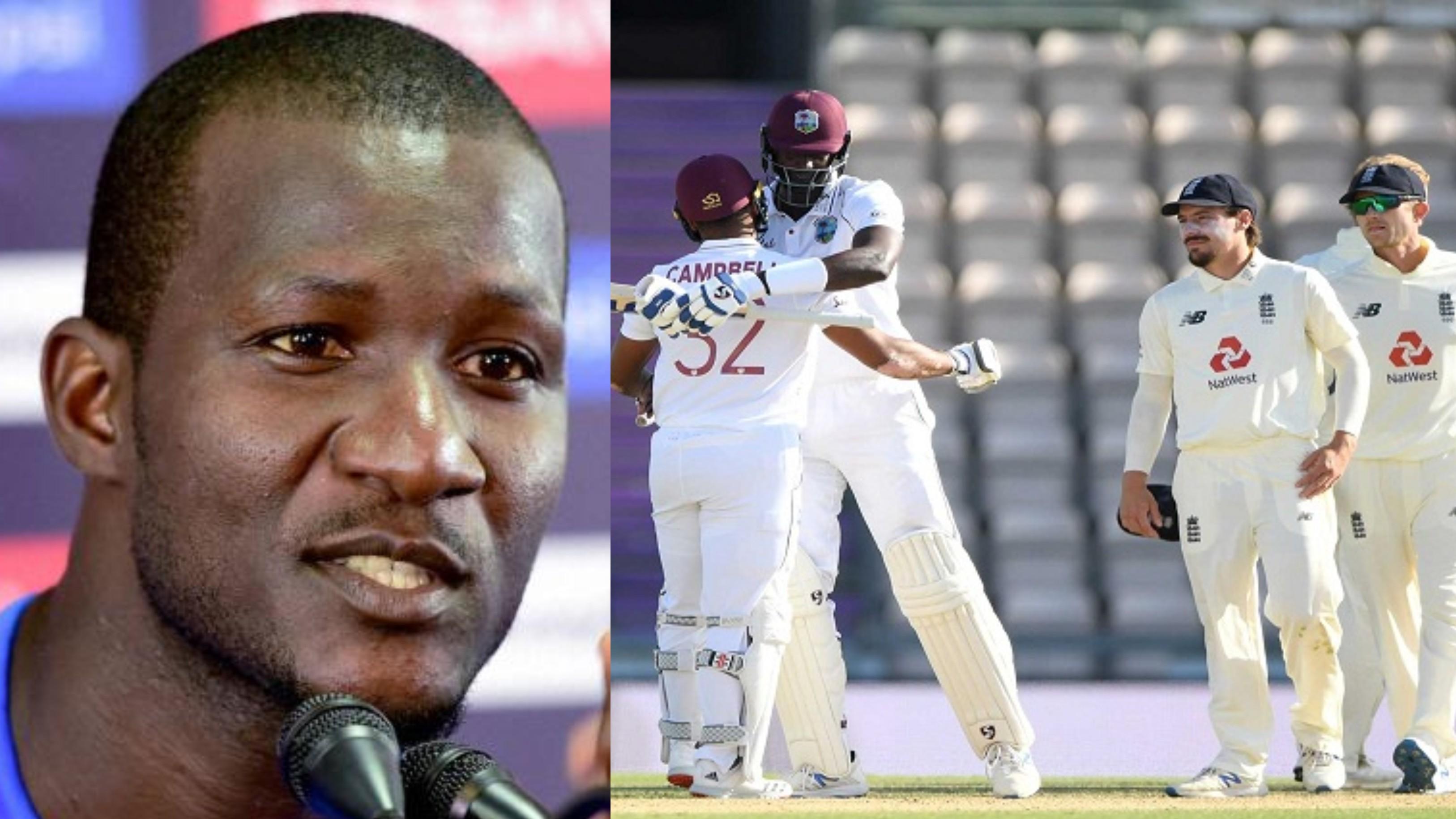ENG v WI 2020: Black Lives Matter gave extra motivation to West Indies, says Darren Sammy after 1st Test win
