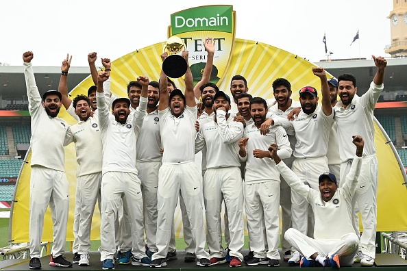 The Pakistan cricket fraternity hailed India's Test series win over Australia | Getty Images