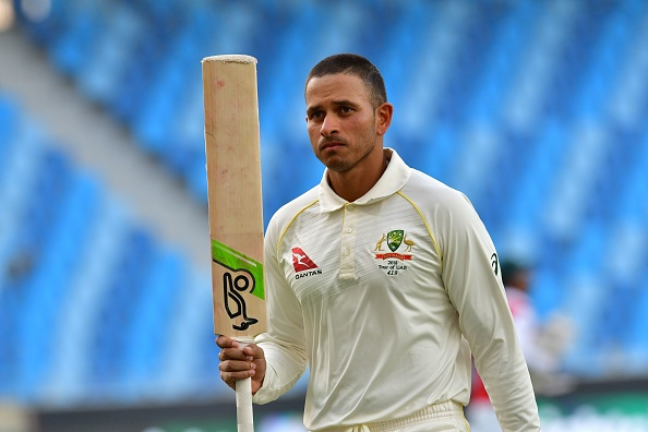 Khawaja was solid on Day 5 at Dubai | Getty