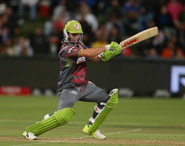 AB de Villiers of Tshwane Spartans during the Mzansi Super League match | Getty
