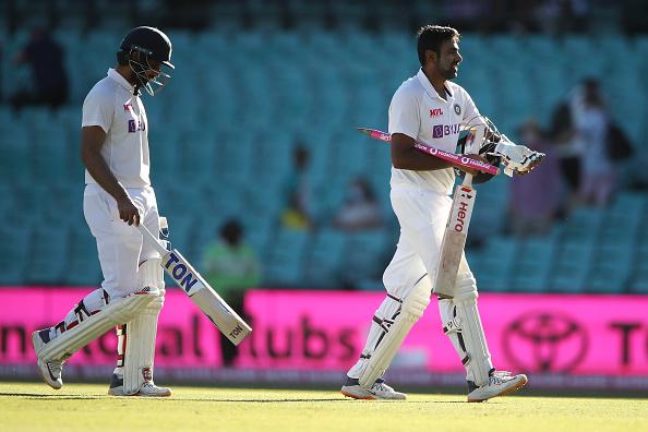 Hanuma Vihari and R Ashwin | GETTY
