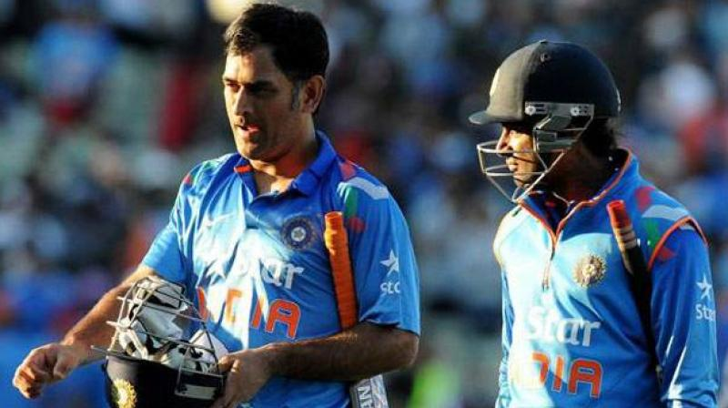 Ambati Rayudu and MS Dhoni might form the crux of Indian middle order