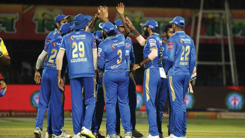 KPL 2019: Bengaluru Blasters edge out Bellary Tuskers by just one run via VJD method