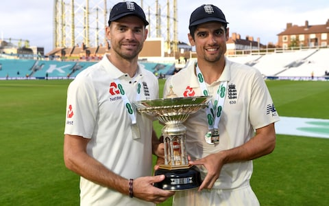 Alastair Cook and James Anderson | Getty