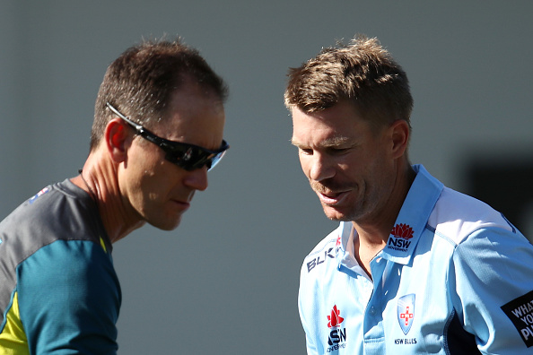 Australia selection isn't my hands, says Warner | Getty Images