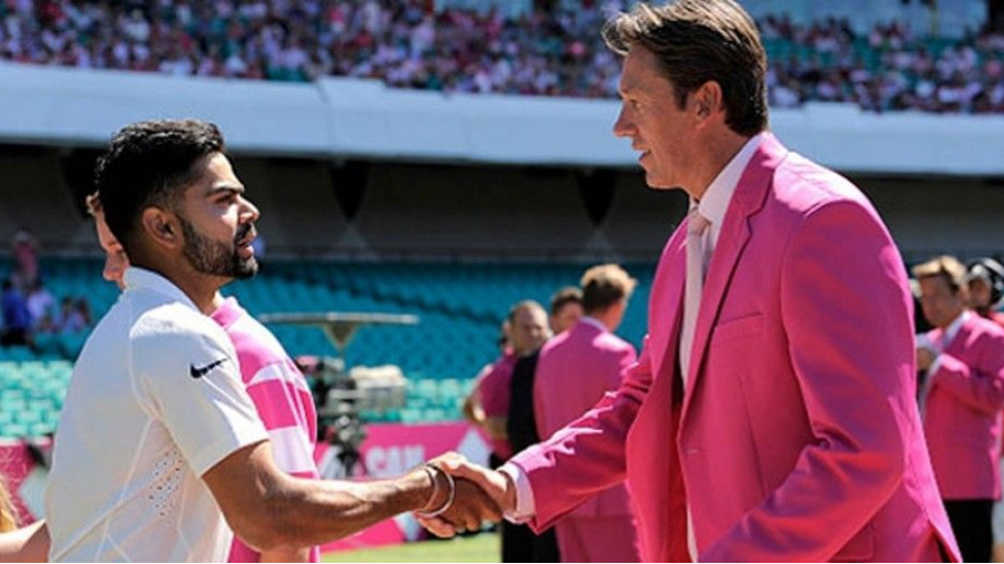 Glenn McGrath talks about bowling to Virat Kohli, said