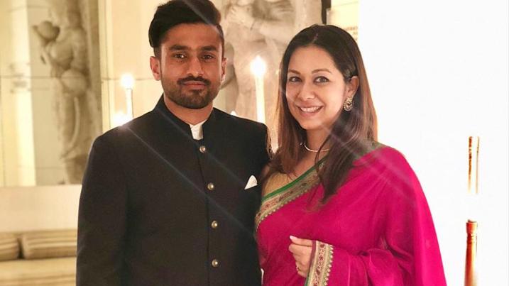 Karun Nair gets married to his fiancé Sanaya Tankariwala