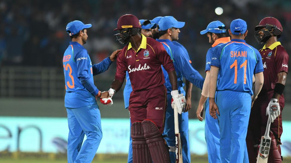 IND vs WI 2018 : Second ODI - Statistical Highlights