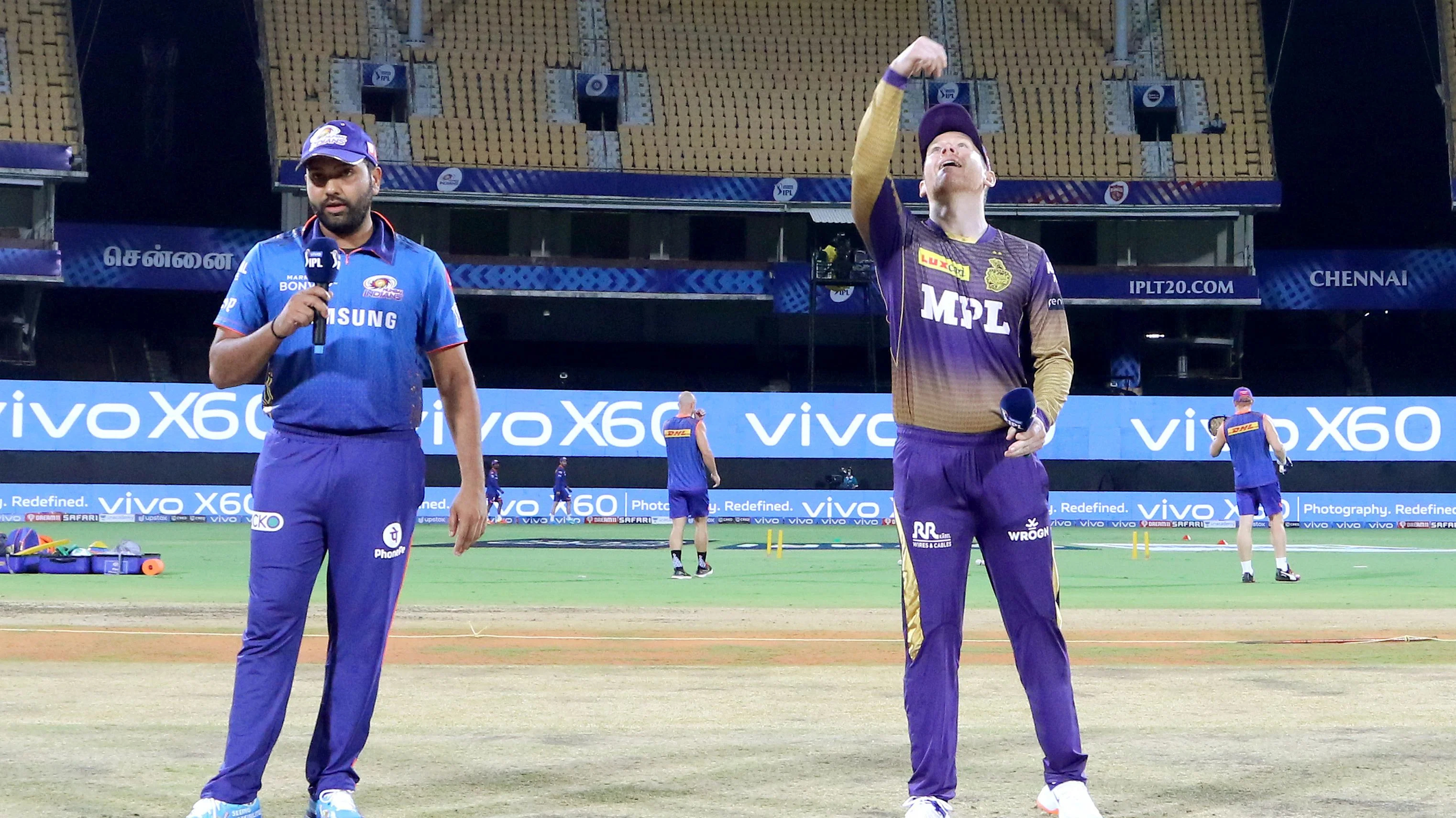 Mumbai Indians had defeated KKR in their previous encounter in IPL 2021 in Chennai   IPL-BCCI