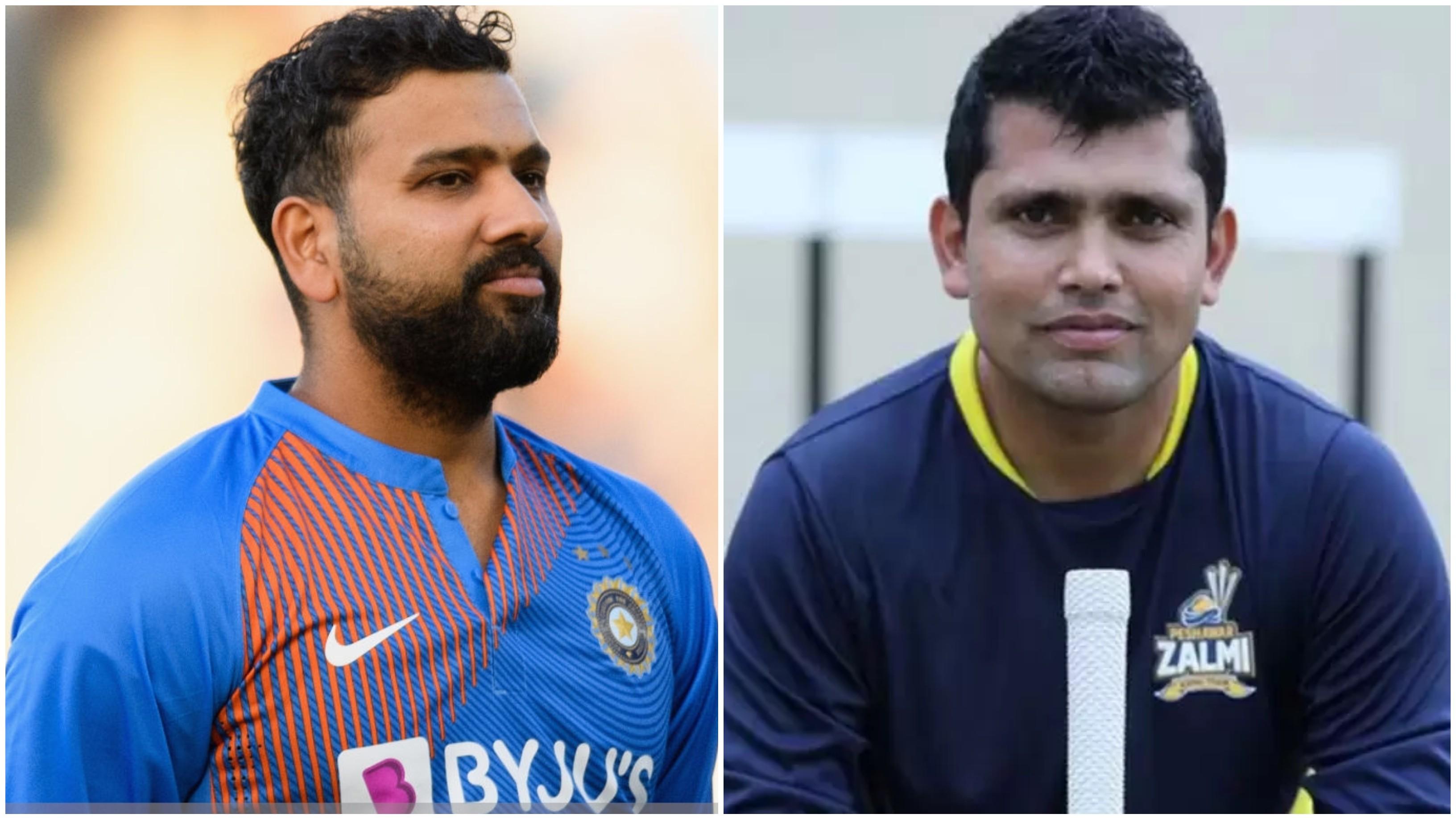 कामरान अकमल ने रोहित शर्मा को बताया सबसे बेहतर छक्के लगाने वाला बल्लेबाज