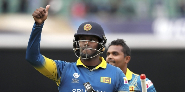 Angelo Mathews. (AP)