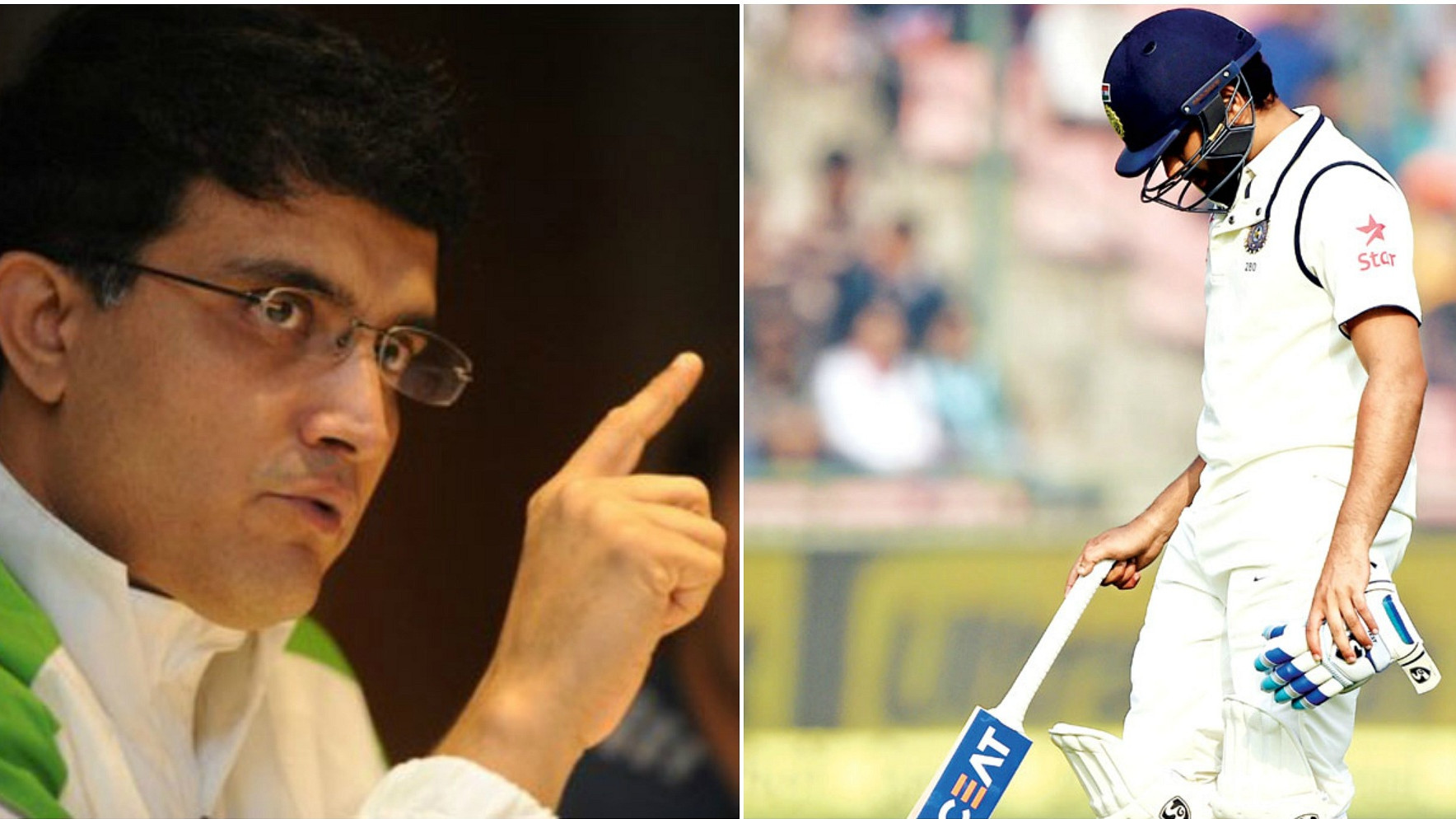 IND v WI 2018: Sourav Ganguly miffed by Rohit Sharma's omission from India's Test squad