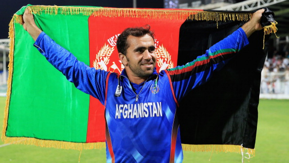 Afghanistan's Karim Sadiq receives precious gifts from CSK players