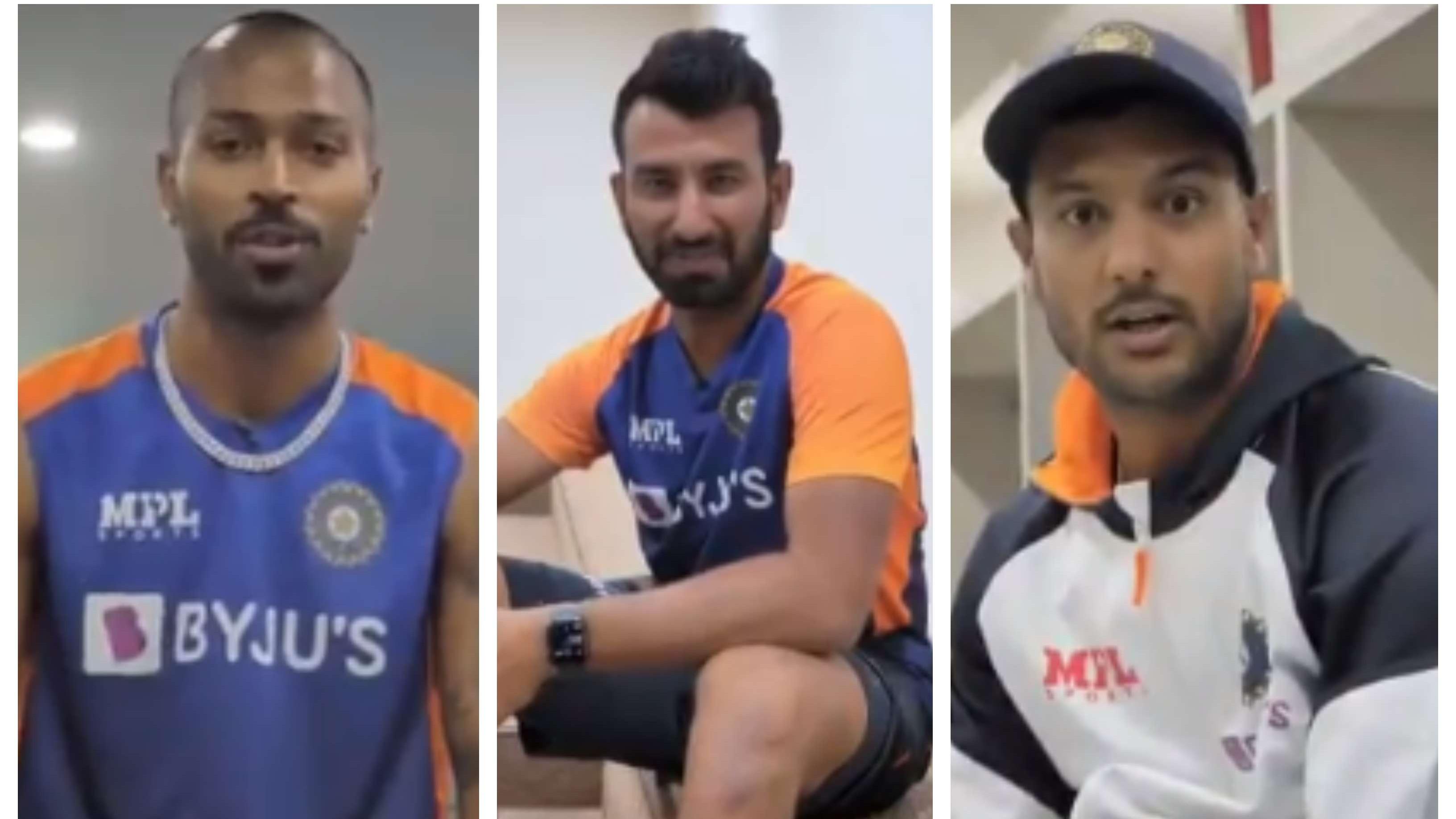 IND v ENG 2021: WATCH – Pandya, Pujara, Mayank share their views on revamped Sardar Patel Stadium