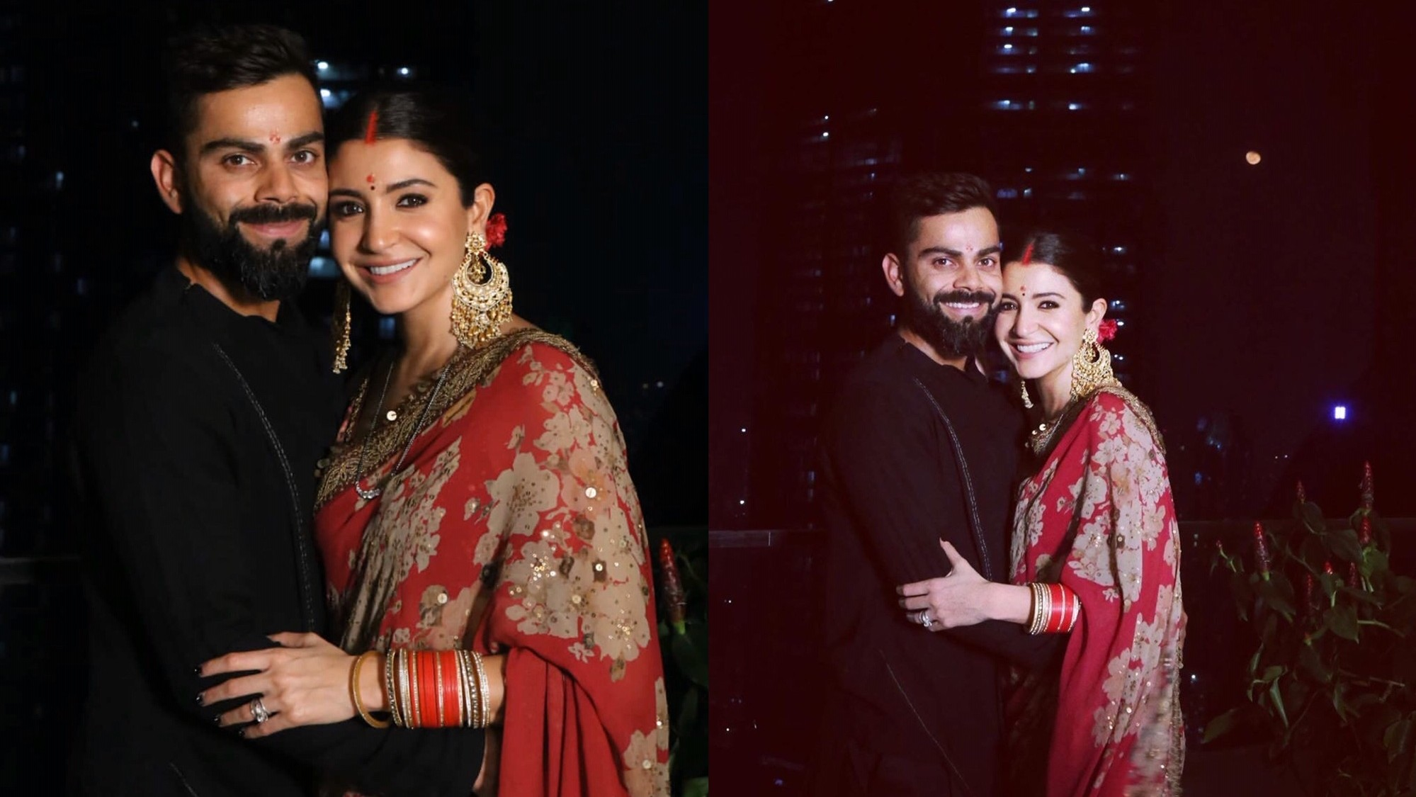 Virat Kohli and Anushka Sharma celebrate Karva Chauth by fasting together