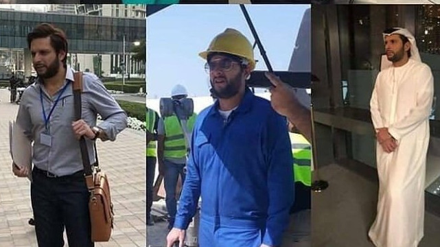 WATCH: Shahid Afridi in multiple avatars; fans compare him with Johnny Sins