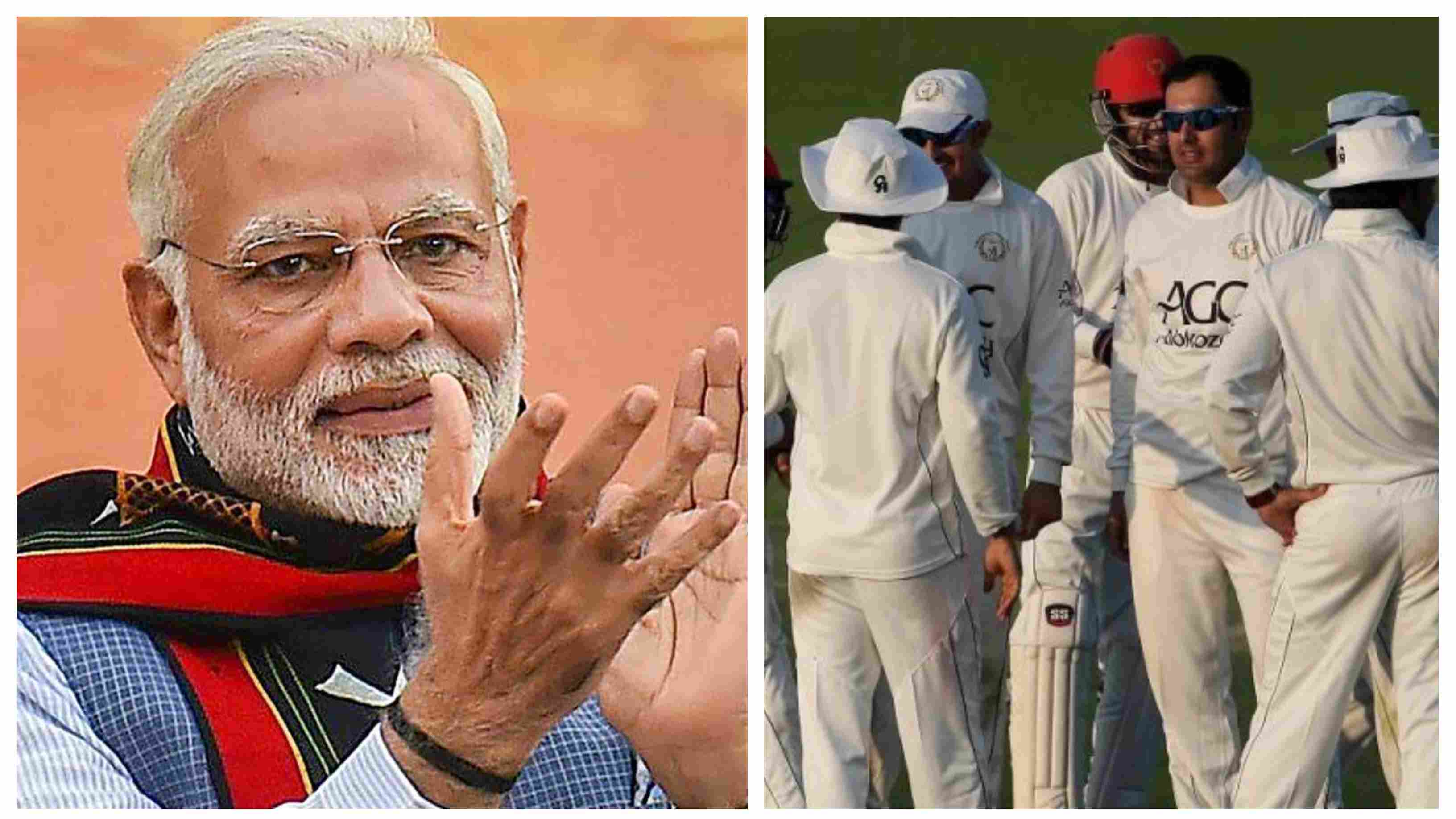 IND vs AFG 2018: India PM Narendra Modi's uplifting message for Test debutants Afghanistan