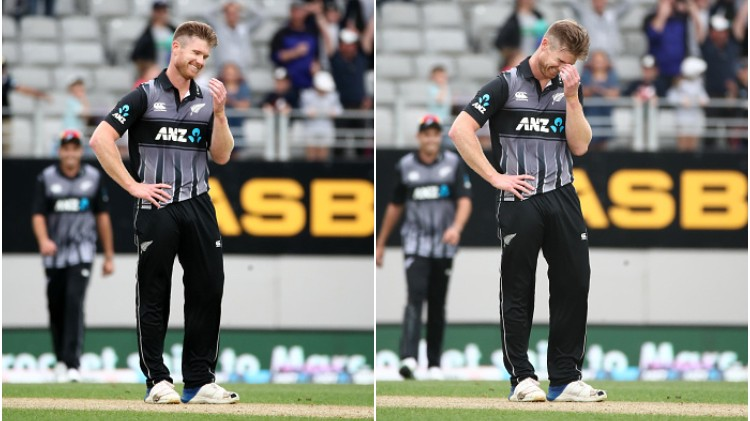 NZ v ENG 2019: WATCH-  Jimmy Neesham shares a hilarious video explaining New Zealand's hard luck