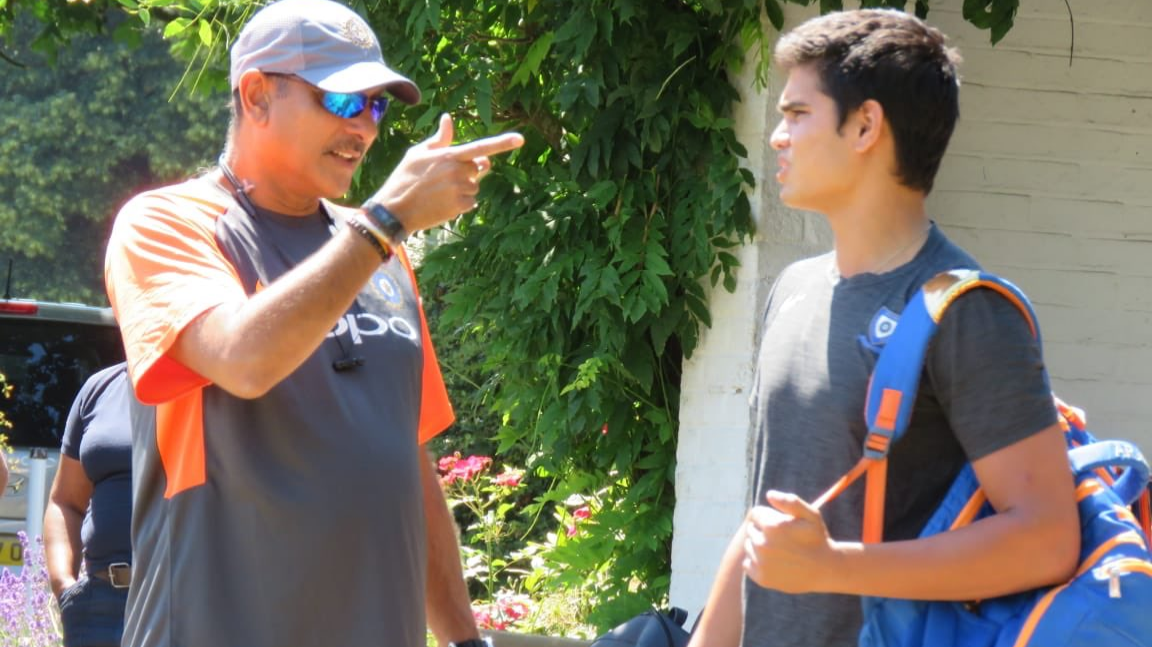 ENG v IND 2018: Arjun Tendulkar gets valuable tips from Ravi Shastri in England