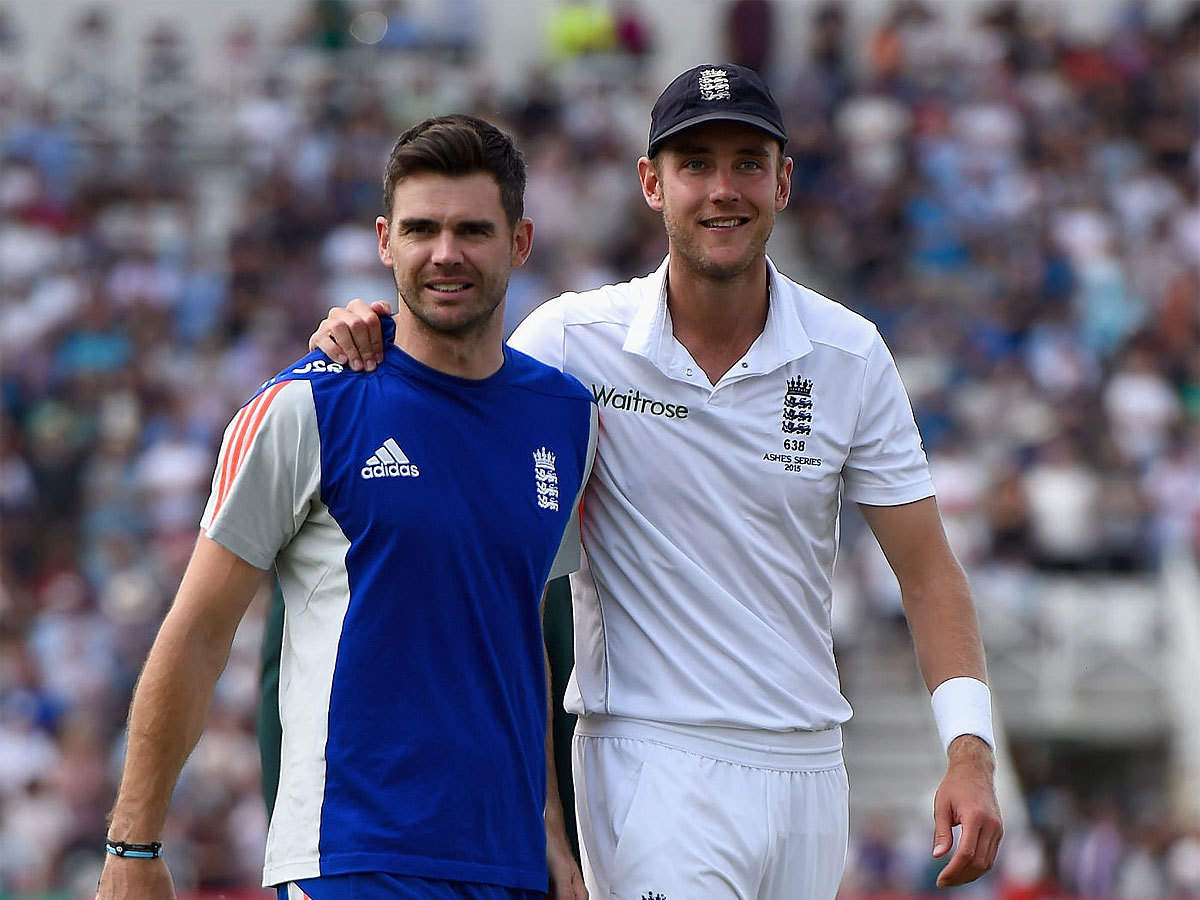 Anderson and Broad- England's top two highest Test wicket-takers