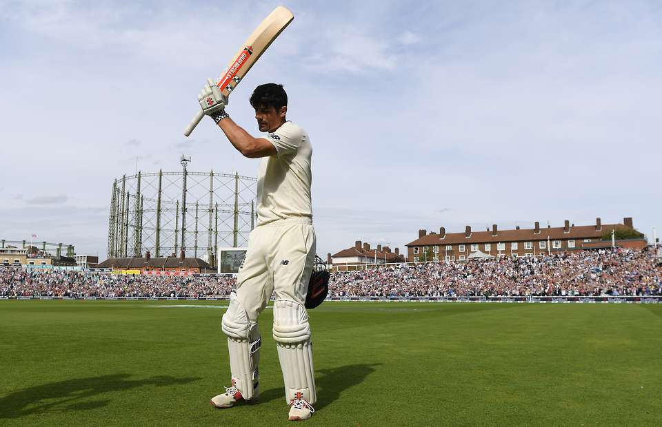 Alastair Cook scored a ton in his final appearance for England   Getty Images