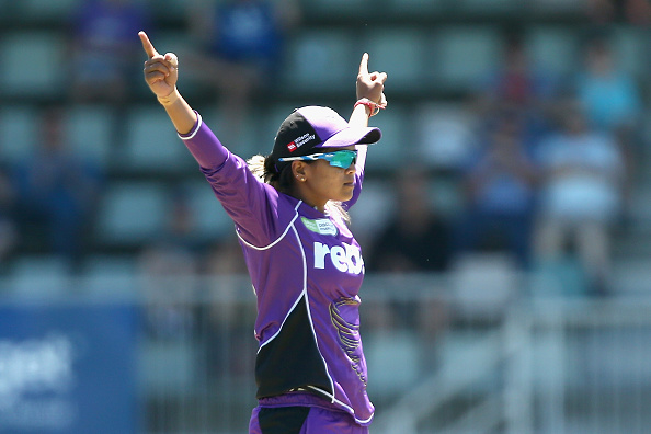Watch – Veda Krishnamurthy takes a blinder for Hurricanes during the WBBL match