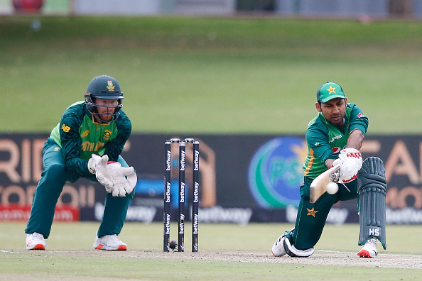 Sarfaraz Ahmed played his first ODI on April 7 since 2019   Getty Images