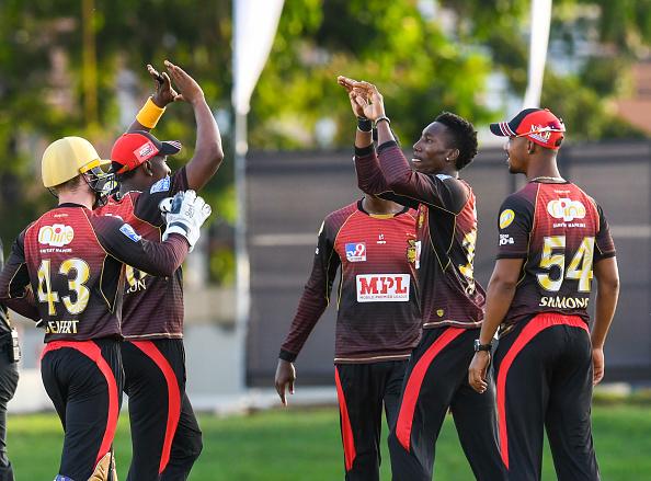 Trinbago Knight Riders won over Guyana Amazon Warriors   Getty