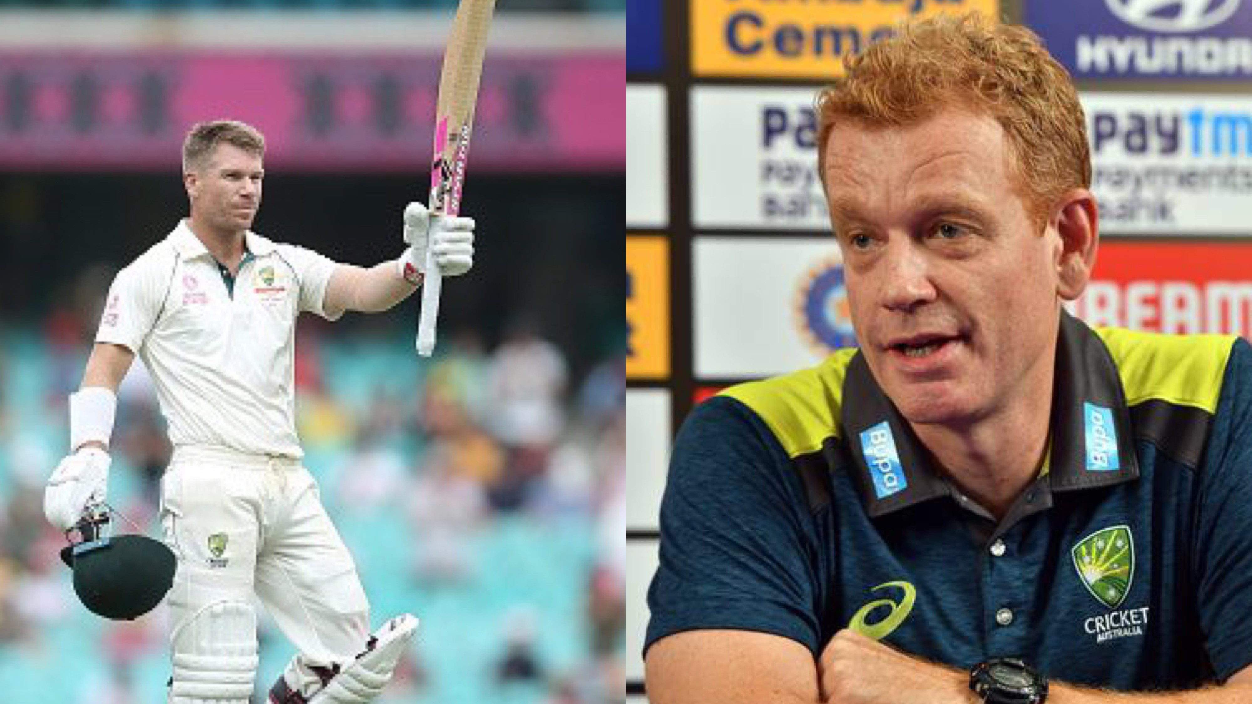 AUS v IND 2020-21: Australia willing to play Warner in Sydney even if not 100% fit: Andrew McDonald