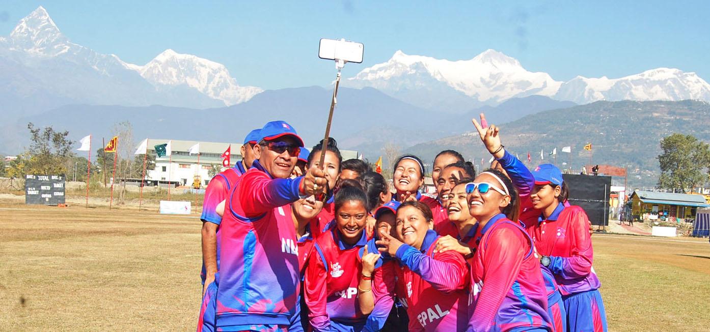 Nepal women's cricket team (Pic. Source: Twitter/@NepalCricket)