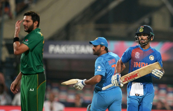 Shahid Afridi and Virat Kohli | GETTY