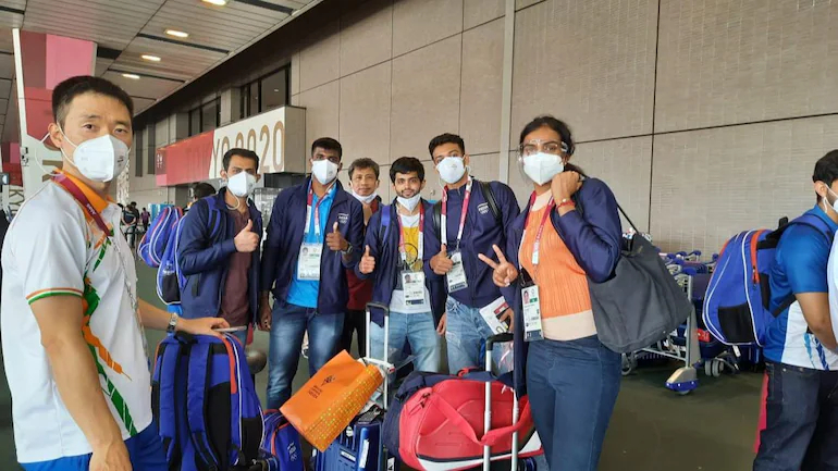 India's Olympics-bound contingent   AFP