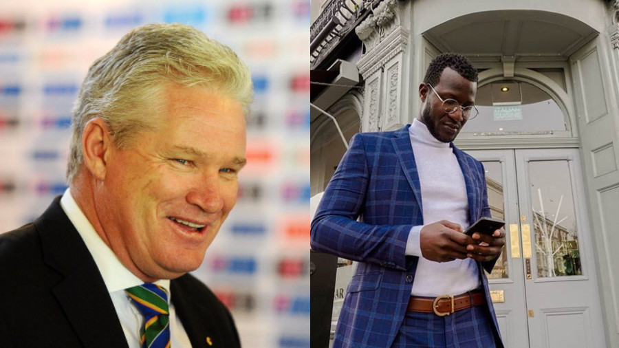 Darren Sammy gets brutal reply from Dean Jones after he asked a question to his followers