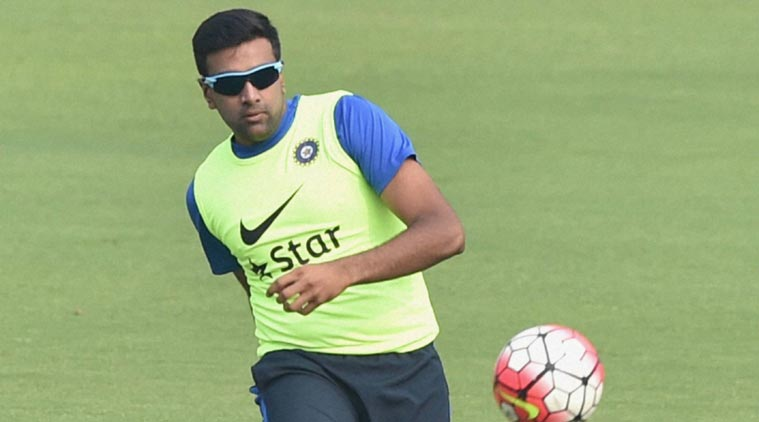 Ravichandran Ashwin playing football in the practice session | PTI