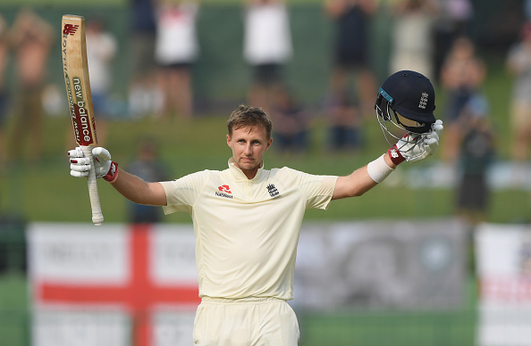 Joe Root celebrates his 15th Test ton at Pallekele | Getty Images