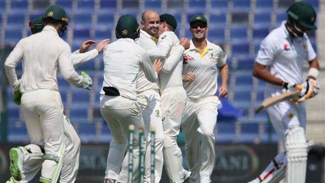 Nathan Lyon picked four wickets in six balls | Getty
