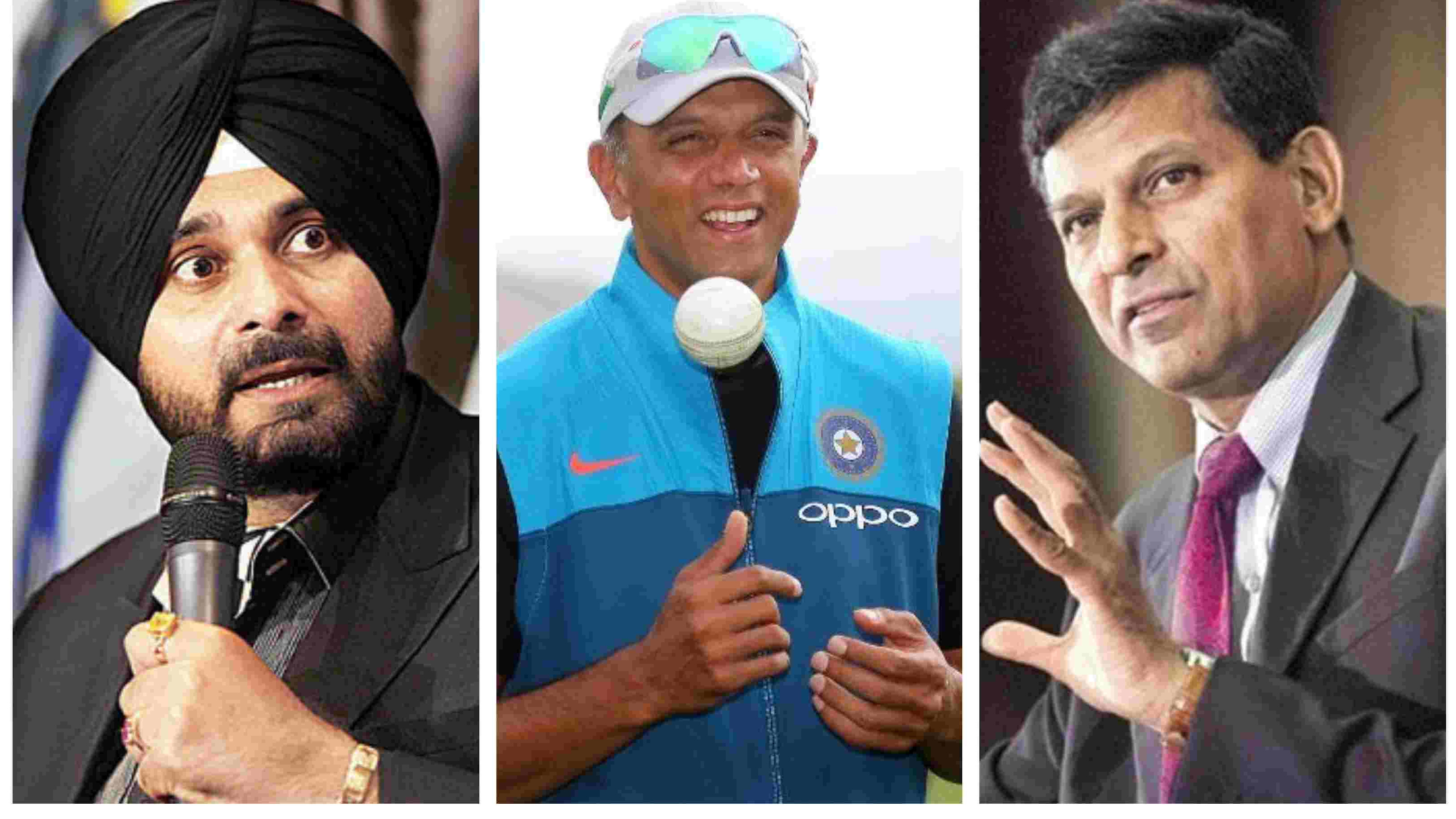 Raghuram Rajan advices RBI to be Rahul Dravid and not Navjot Singh Sidhu