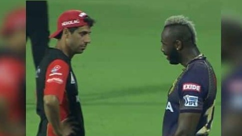 IPL 2019: Twitter jokes about Ashish Nehra and Andre Russell's conversation; turns them into a meme