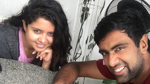 आर अश्विन ने शादी की आठवीं सालगिरह पर पत्नी के ट्वीट का कुछ इस तरह से दिया जवाब