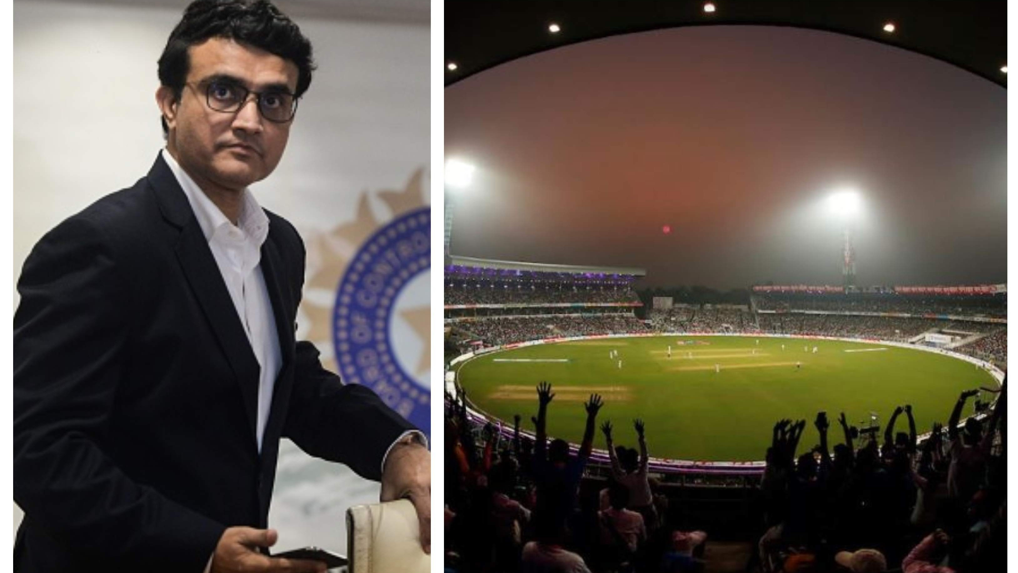 Sourav Ganguly says playing one D/N Test per series very importantto get crowds in